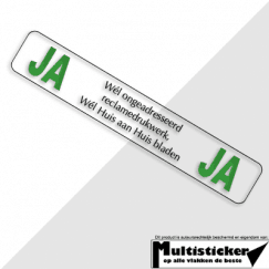ja ja sticker