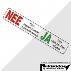 Nee Ja Sticker