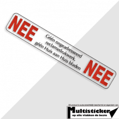Nee Nee Sticker